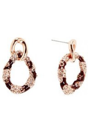 Guess Jewellery Earrings UBE21573 - Oorknoppen - Asymmetrisch - Messing rosékleurig PVD