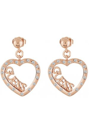 GUESS Jewellery Oorbellen Love Affair roségoudkleurig