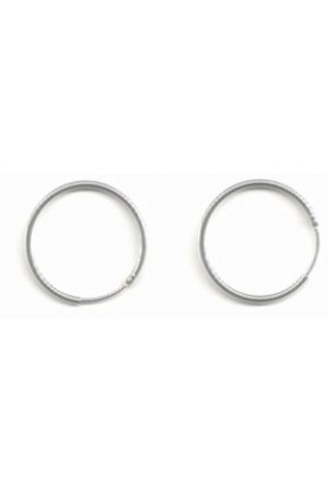 Robimex  Collection Oorbellen - Creolen Ronde Buis  15mm – Zilver