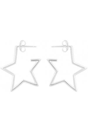 Star hoops - 925 zilver