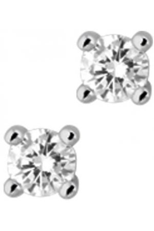 The Jewelry Collection Oorknoppen Diamant 0.50 Ct. - Witgoud