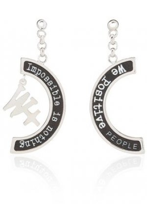 We Positive™ Earrings Black ER002