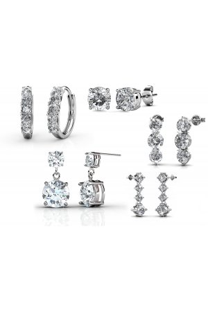 Yolora sieraden - Oorbellen set met Crystals from Swarovski ® - Dutch Glory - Dutch Beauty Design